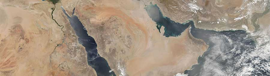 Dust storms in the Middle East - feature page