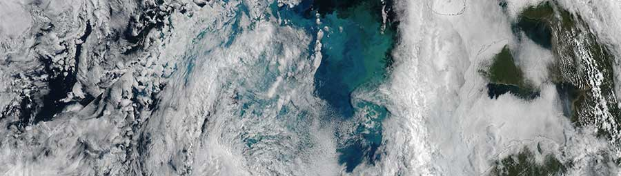 Phytoplankton Bloom in the Barents Sea - feature page
