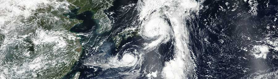Tropical Storm Mindulle over Japan and Tropical Storm Lionrock - feature page