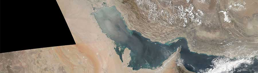 Dust storm Persian gulf 3 Oct SNPP
