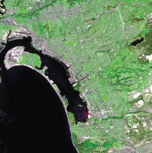 ASTER image of San Diego, California