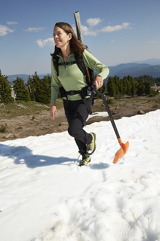 Anne Nolin on Mt. Hood