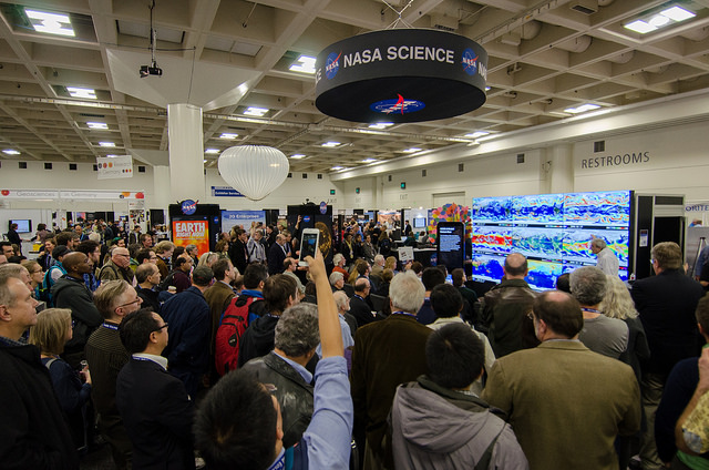 NASA Booth at the 2015 AGU Fall Meeting