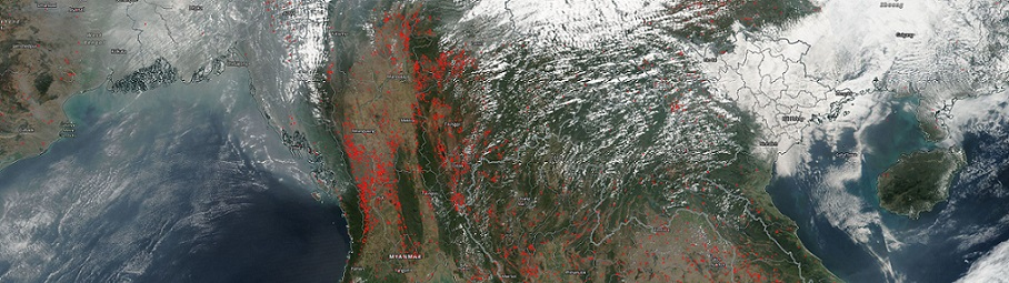 Fires in Indochina - feature page