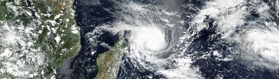 Tropical Cyclone Enawo approaches Madagascar - feature page