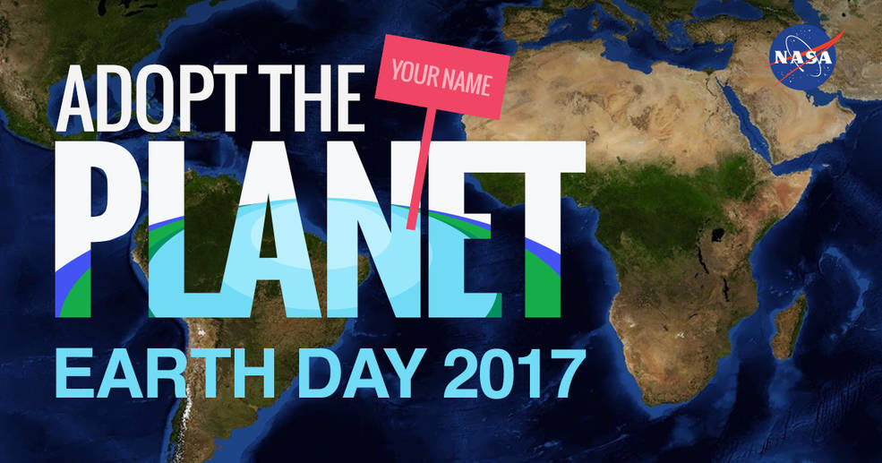 Adopt the Planet banner