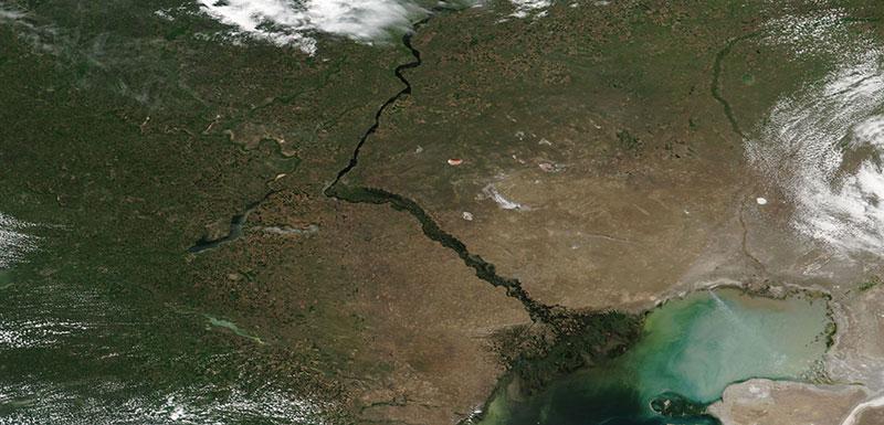 Volga River, Russia
