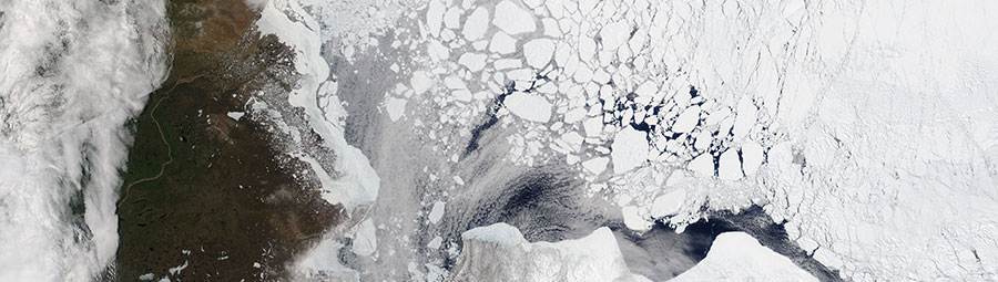 Sea Ice Beaufort Sea 3 June 2017 Aqua