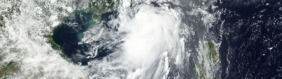 Tropical storm Merbok 12 June 2017 NPP