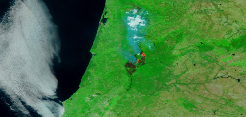Central Portuga lfire 20 June 2017 VIIRS 1 Lg