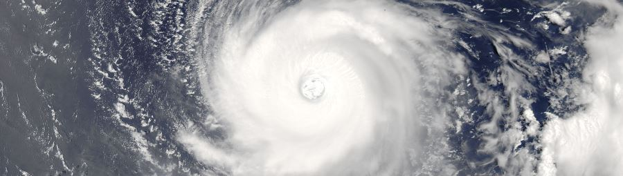 Super Typhoon Noru (07W) in the northern Pacific