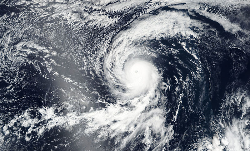 Tropical Storm Kenneth in the Pacific Ocean on 20 August 2017 (Suomi NPP-VIIRS)