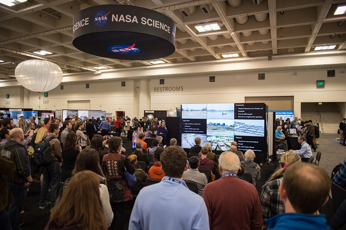 Image of NASA Booth at 2016 AGU