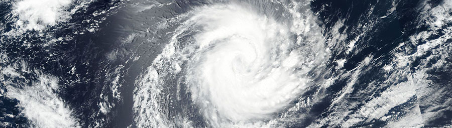Tropical Cyclone Irving in the Indian Ocean on 7 January 2018 (VIIRS/Suomi-NPP)