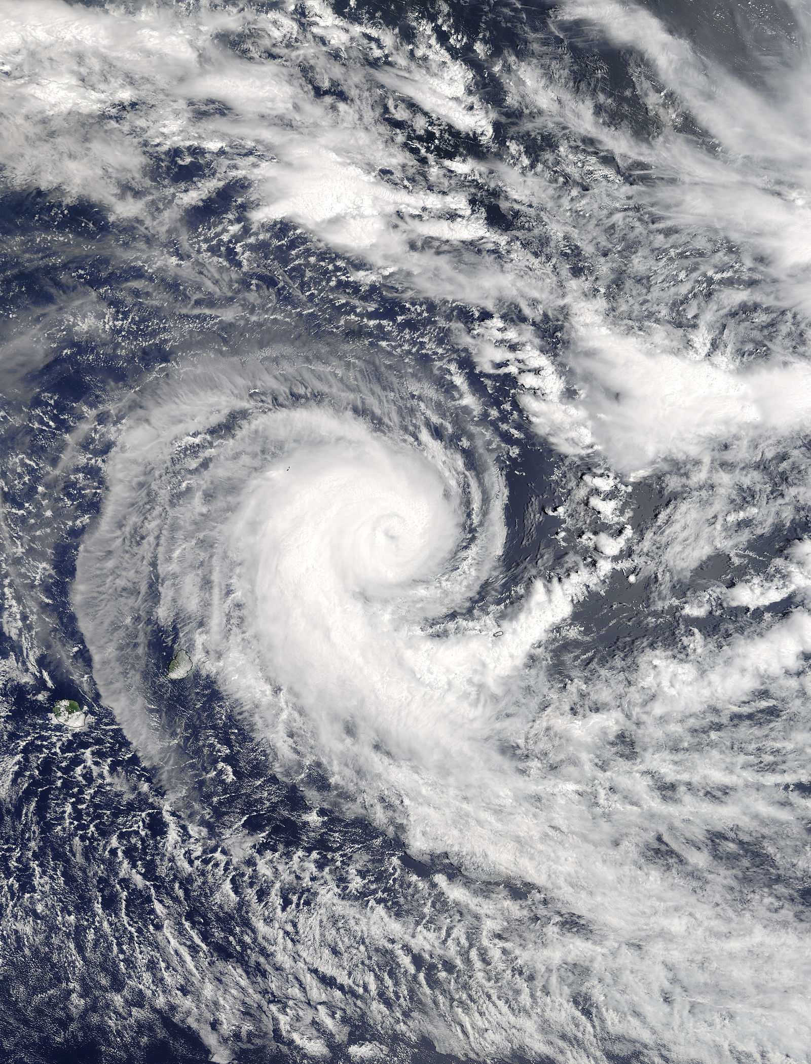 Tropical Cyclone Berguitta