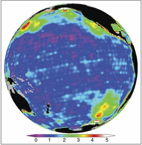 GRACE ocean bottom pressure