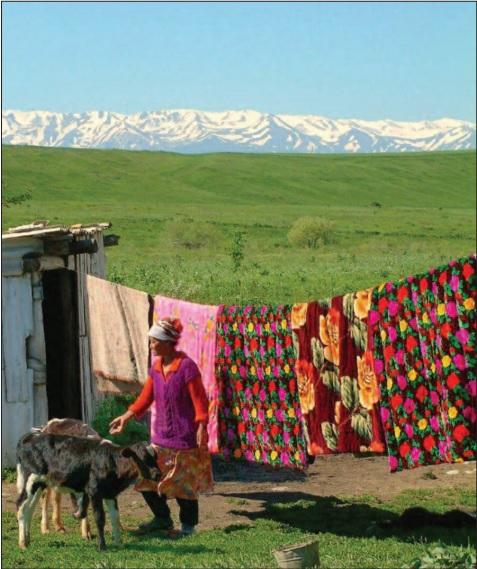 Kazakh nomads