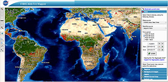 Active Fire Data Earthdata - Us active fire map