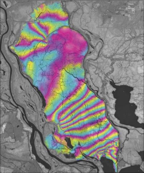InSAR Atchafalaya Basin