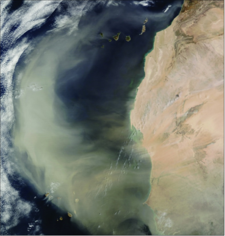 MODIS Saharan Air Layer