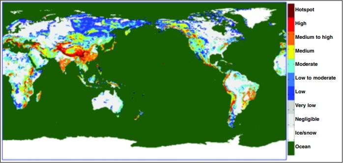 global landslide susceptibility