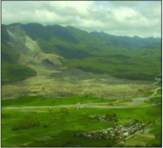 Guinsaugon aerial landslide