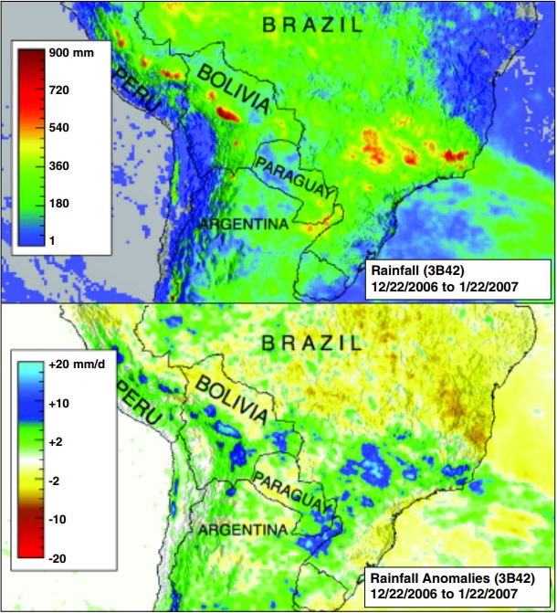 TMPA-RT South America