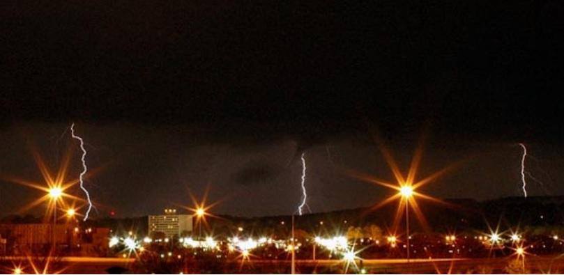 Huntsville lightning