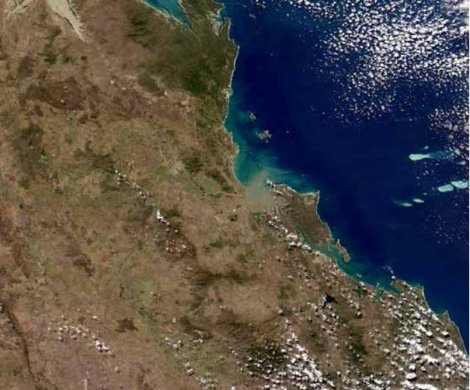 MODIS Fitzroy River