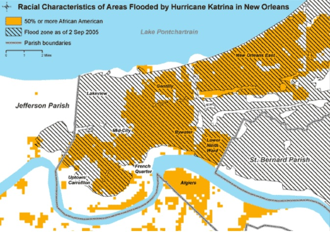 New Orleans flood demographics