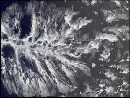 MISR actinoform cloud