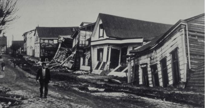 Valdivia Chile earthquake