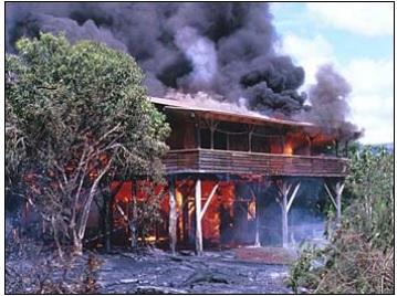 Kiauea Volcano lava