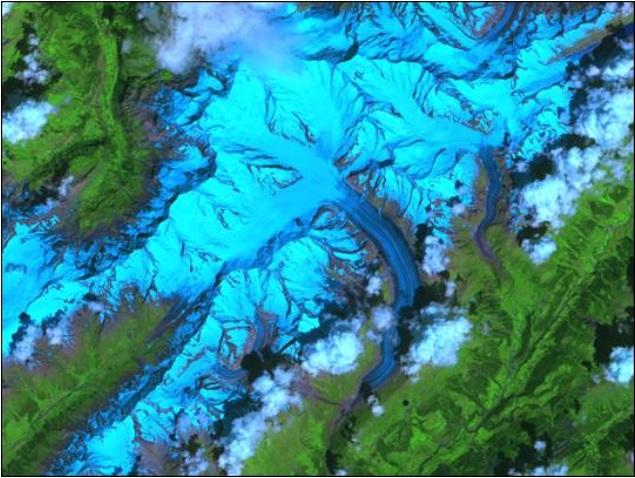 ASTER Aletsch Glacier