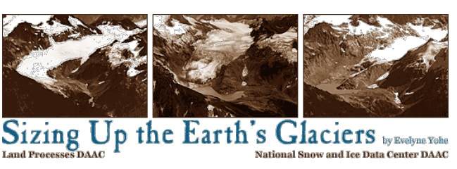 Sizing Up the Earths Glaciers title