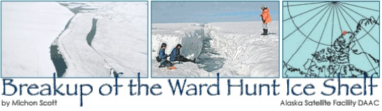 Breakup of the Ward Hunt Ice Shelf title