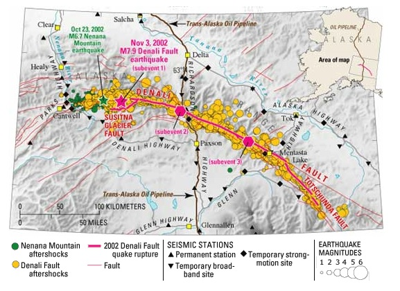 Suslina Glacier map