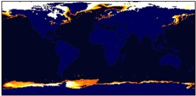 ISLSCP global sea ice