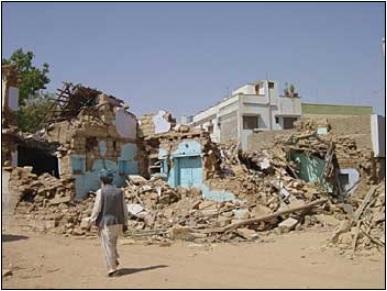 Bhuj village structures