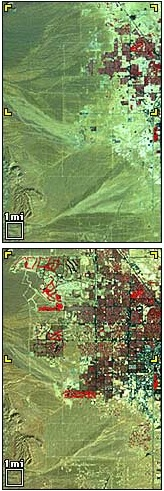 Landsat Las Vegas growth