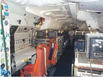 NASA DC-8 interior