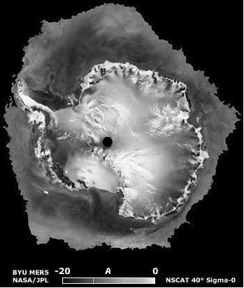 NSCAT scatterometer Antarctica
