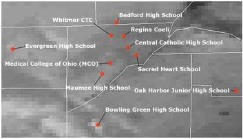 AVHRR Toledo schools
