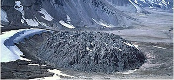 volcanic lava dome