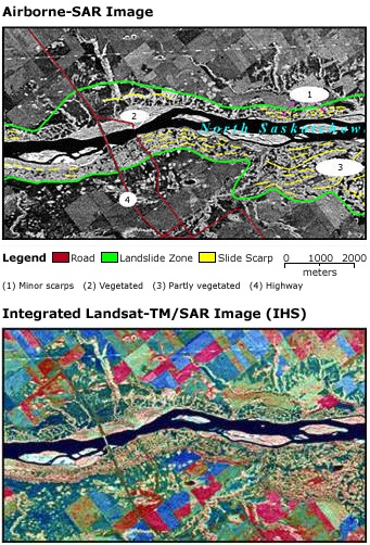 Saskatchewan landslide
