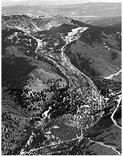 Slumgullion landslide