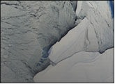 icebergs Ross Ice Shelf