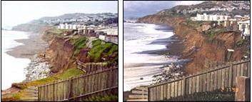 Pacifica El Nino erosion