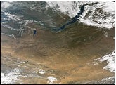 Mongolia semiarid plateau