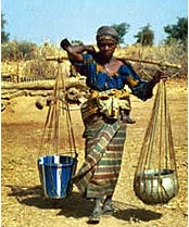 Nigerian woman water